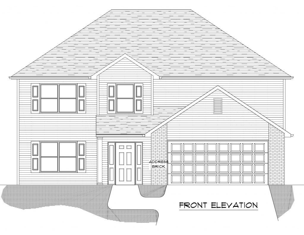 Andrew Floor Plan - Heller Homes base model Andrew floor plan