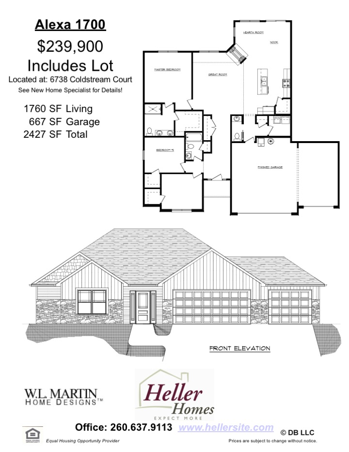 141 Valencia Handout - Heller Homes Available Home Alexa Floor Plan at 141 Valencia