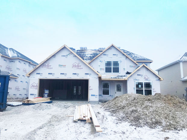 58 Bristoe - Heller Homes available home Joann Floor Plan at Lot 58 Bristoe