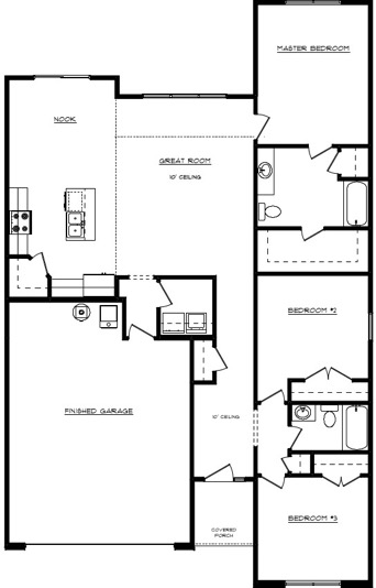Spencer Floor Layout - Heller Homes Spencer First Floor Plan