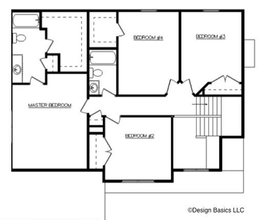 David Matthew 1 Floor Layout - Heller Homes David Matthew 1 Second Floor Plan