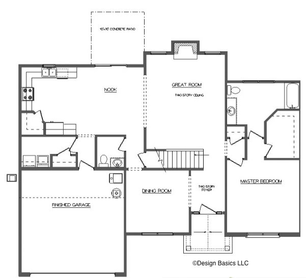 David Matthew 2 Floor Layout - Heller Homes David Matthew 2 First Floor Plan