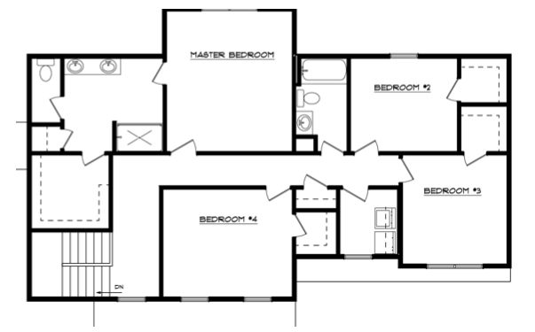 Kandon Place Floor Layout - Heller Homes Kandon Place Second Floor Plan
