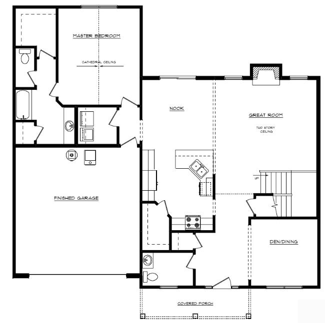 William Floor Layout - Heller Homes William First Floor Plan