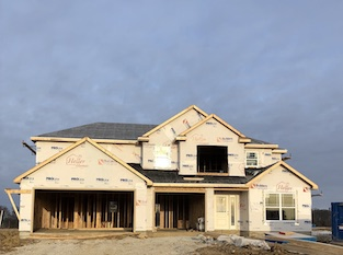 Heller Homes Available Homes - A picture our Lot 30 Lone Oak