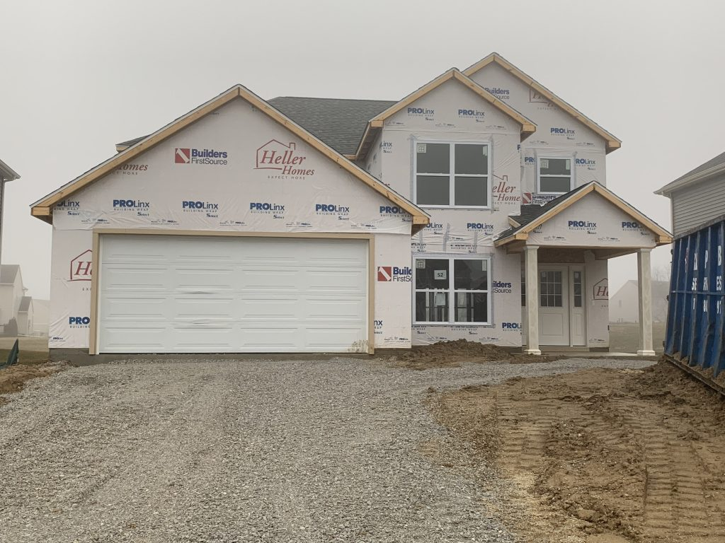 Heller Homes Available Homes - A picture our Lot 52 Bristoe