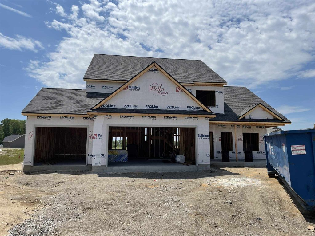 Heller Homes Available Homes - A picture our Lot 91 Rolling Oaks Leslie 2