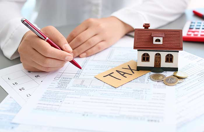 claim a property tax on federal tax filing