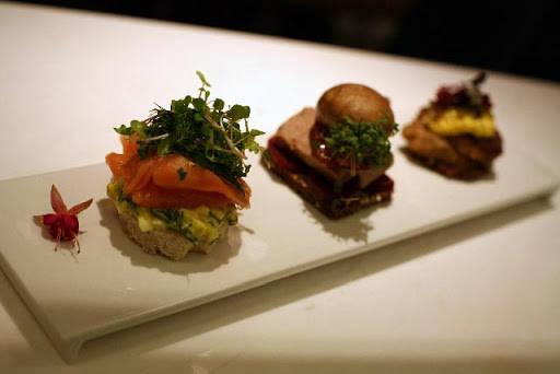 Smørrebrød + sushi = Smushi!