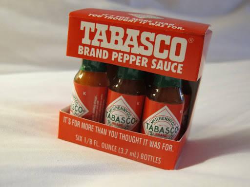 Mini-tabasco er perfekt tilbehør til matpakken