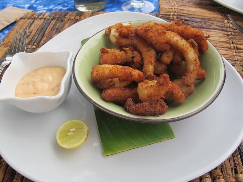 Calamares med chilimajones.