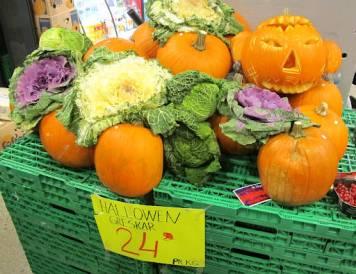 Grønnsaker fra Sultan.