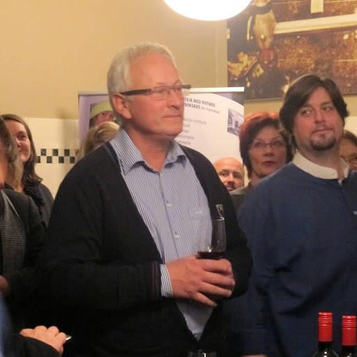 Slakter Jens Eide var tilstede og holdt også en fin tale om mat.