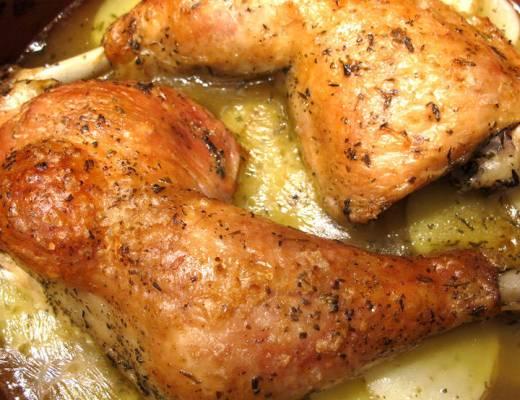 kyllingconfit