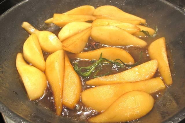 pærer i karamell