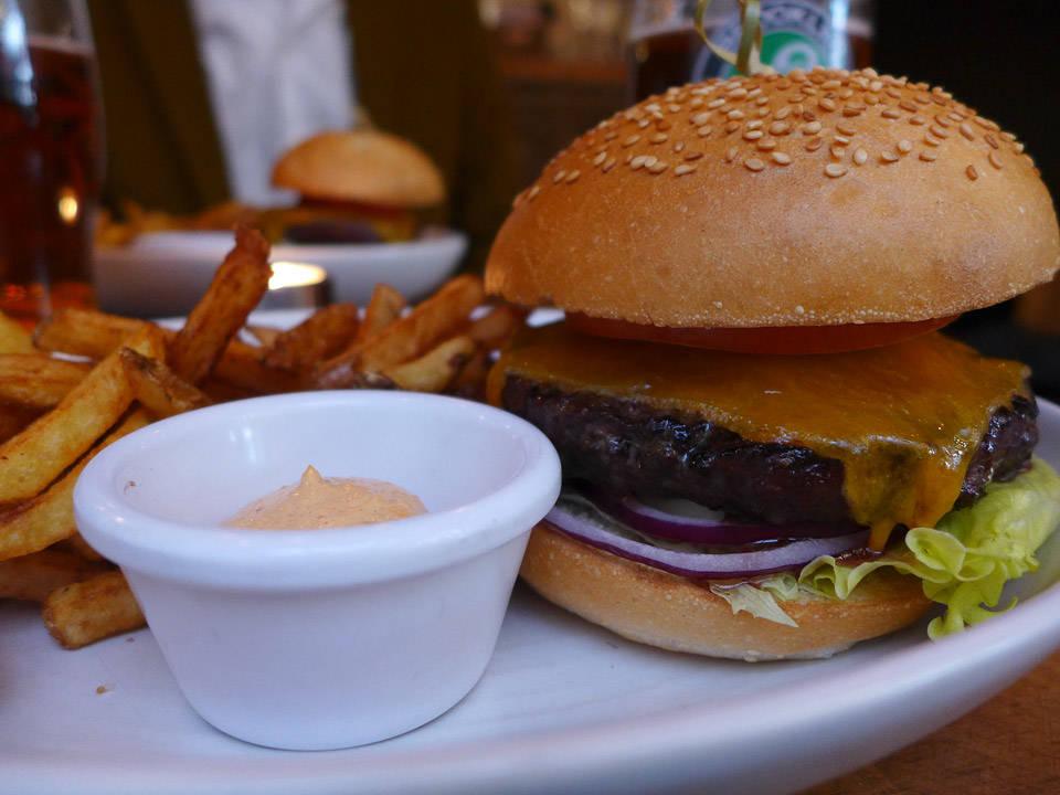 Burger Bar i Oslo.