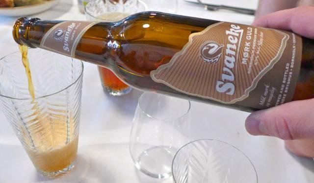 Øl til 3. rett.