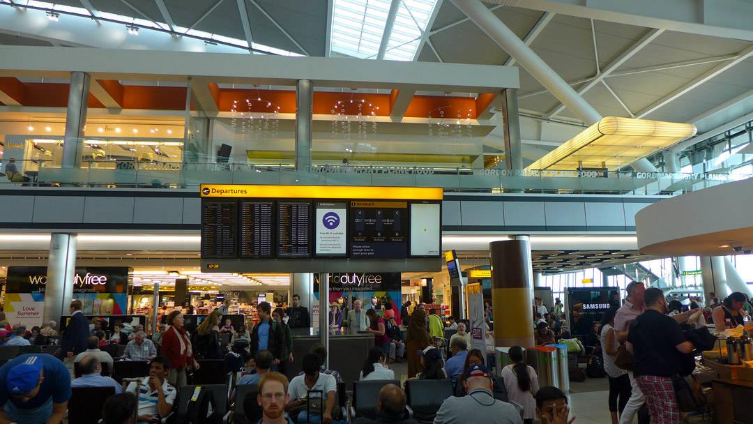 Gordon Ramsay Plane Food på Terminal 5, Heathrow