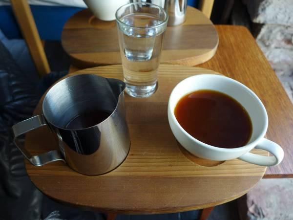 Herlig kaffe hos Tim Wendelboe på Grünerløkka i Oslo.