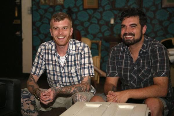 Nico og Xavi arrangerer gourmetmiddager hjemme hos seg selv, midt i Barcelona.