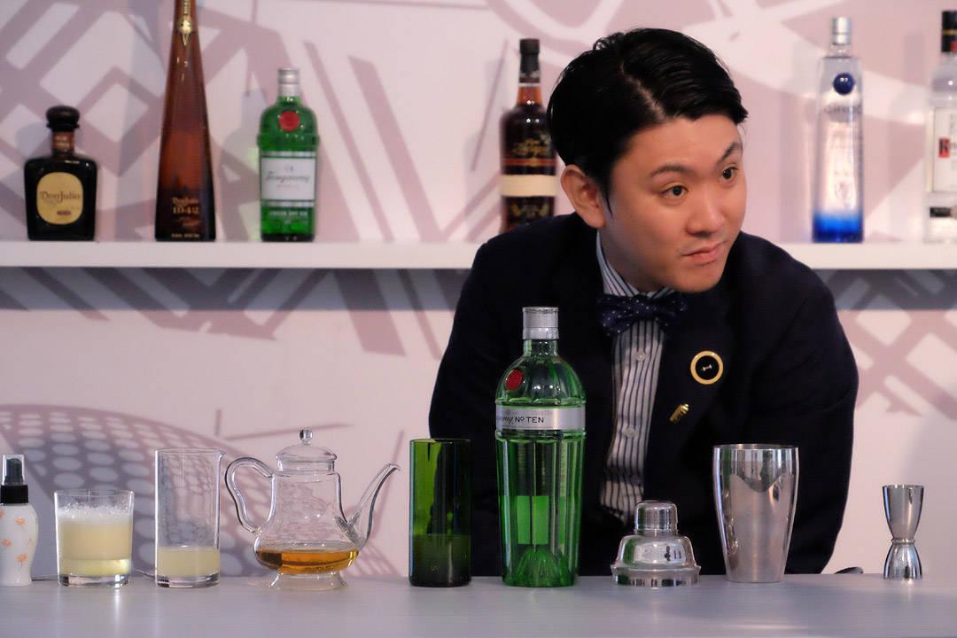 """Den japanske finalisten gjør seg klar til """"Against the Clock"""""""