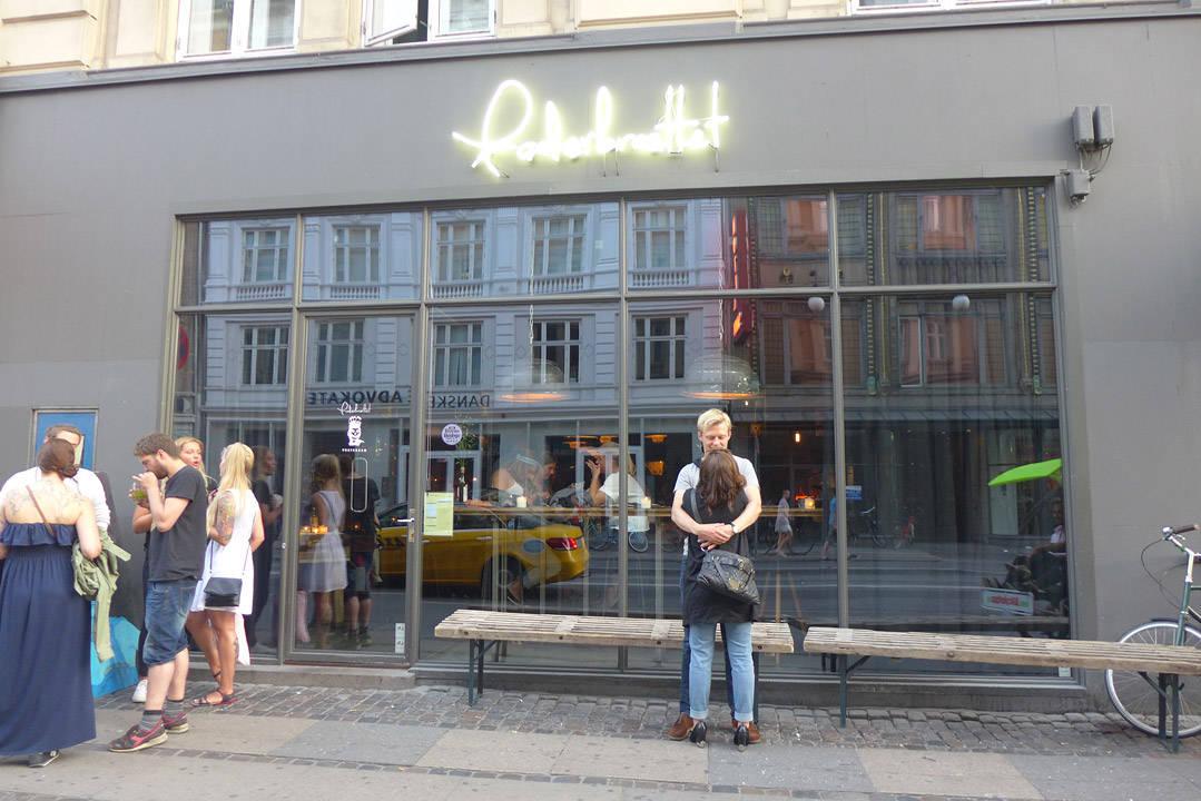 Foderbrættet på Vesterbrogade.