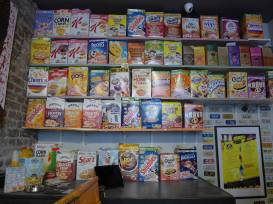 cereal killer café i Brick Lane i London.