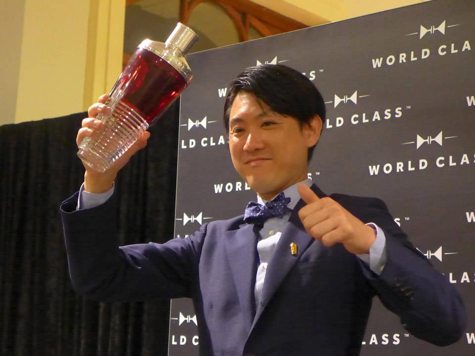 Verdensmesteren Michito Kaneko fra Japan