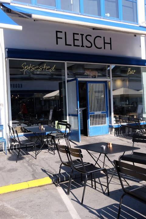 Fleisch i Kødbyen i København.