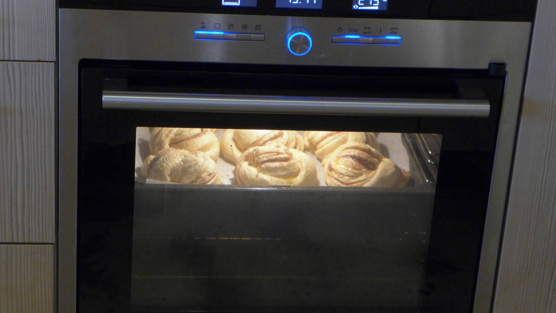 Kanelsnurrer «in the making»