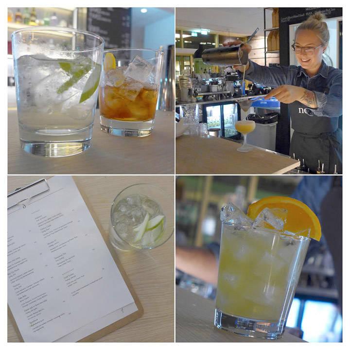 Gin & Tonic og nordoni (en slags negroni)