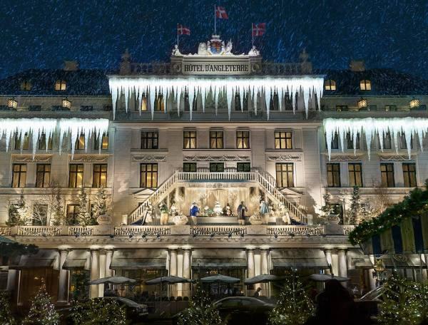Julepyntet D'Angleterre. (Foto Visit Denmark)
