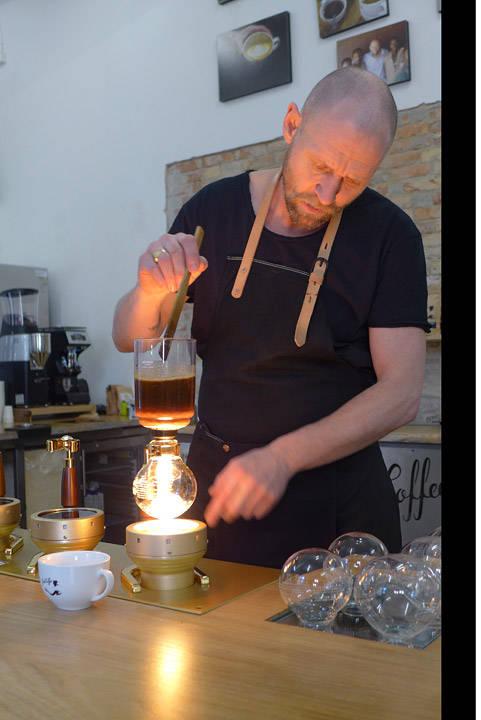 Kaffe-nazien i Århus.
