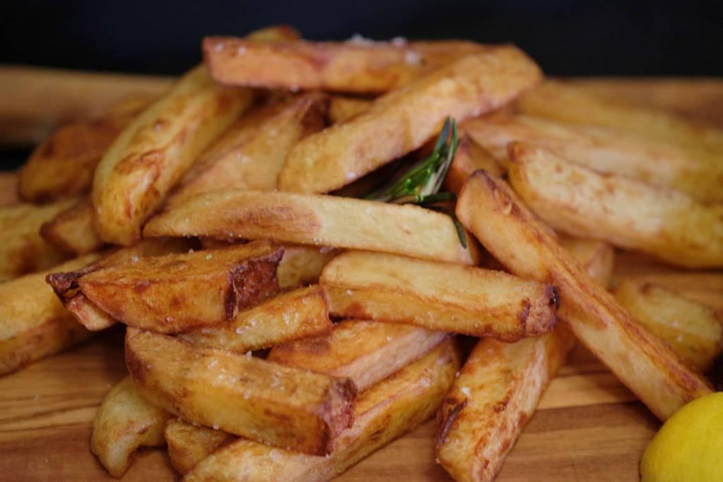 Herlige pommes frites.