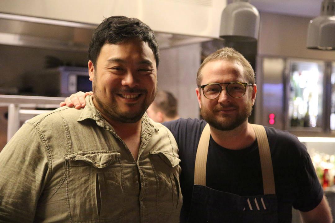 David Chang og Clayton Wells. Foto: Erik Valebrokk.