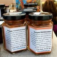 Norsk tindved-marmelade.
