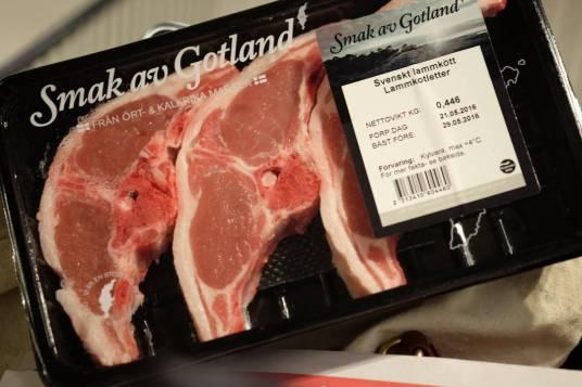 Lam fra Gotland.