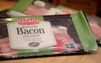 svenskt økologisk bacon