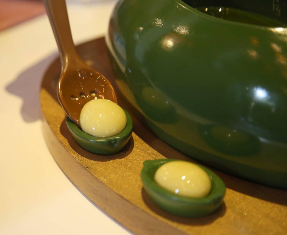 Sfæriske oliven. Tickets, Barcelona