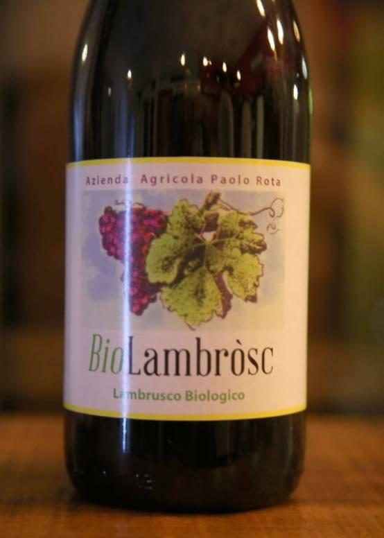 Dette er vinen jeg snakker om! Lambrusco på sitt beste!