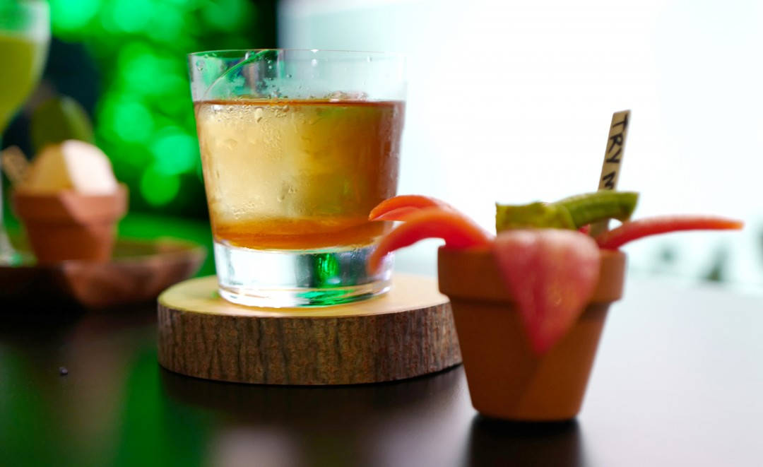 Johans tredje drink.