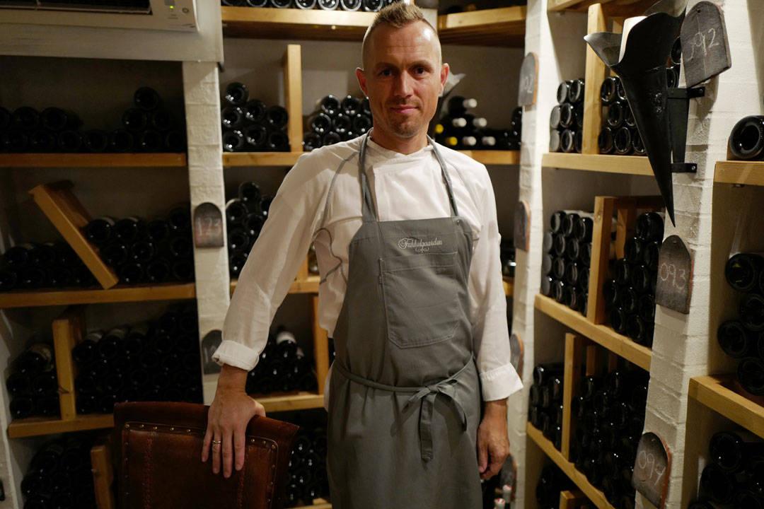 Kjøkkensjef Esben Krogh.