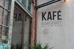 Kafé Magasinet i Tredje Långgatan er et skikkelig trendy sted i bydelen Linné.