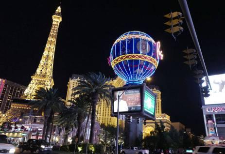 Klart de har Eiffeltårnet i Las Vegas.