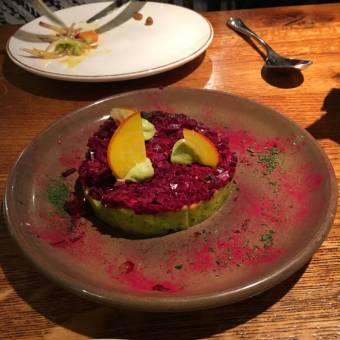 Avokado og rødbeter
