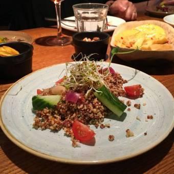 Quinoa, Avocado & Cucumber Salad