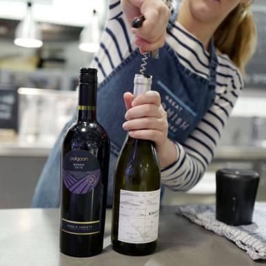 Vin fra Cornwall.