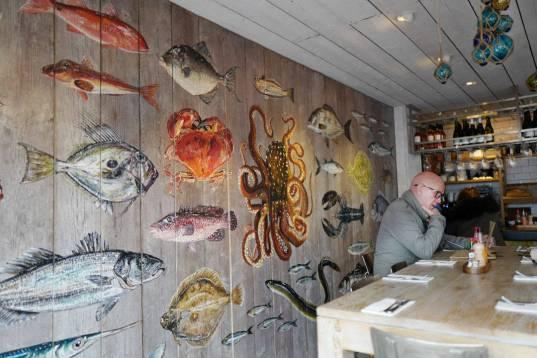 Rick Steins sjømatbar.