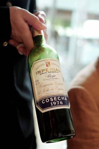 Også en godbit på vinfronten: Imperial Cune '76 D.O.Ca Rioja