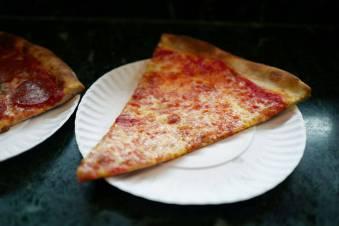 Pizza Margherita er noe av det beste jeg kan spise. Her fra Joe's Pizza i New York.